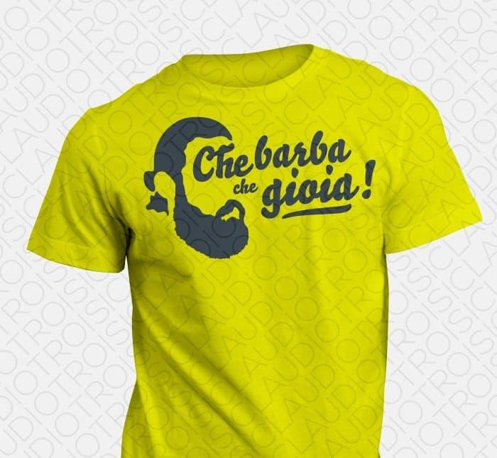 Maglietta Flybeard Che Barba che Gioia