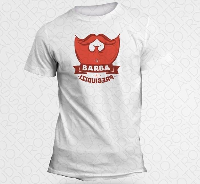 Maglietta Flybeard In Barba ai Pregiudizi