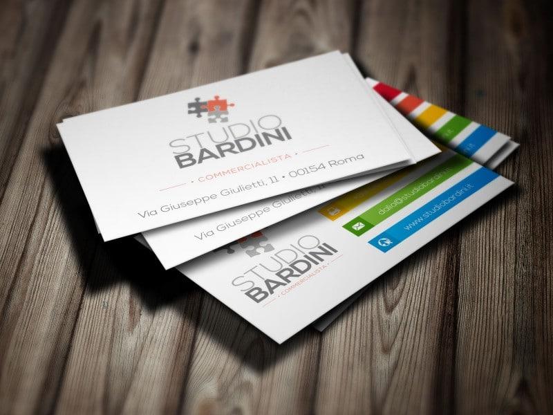 Grafico Roma Claudio Troisi Biglietto da visita Studio Bardini Biglietto da visita Studio Bardini