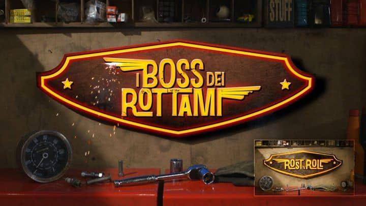 Versioning logo Rost 'n Roll