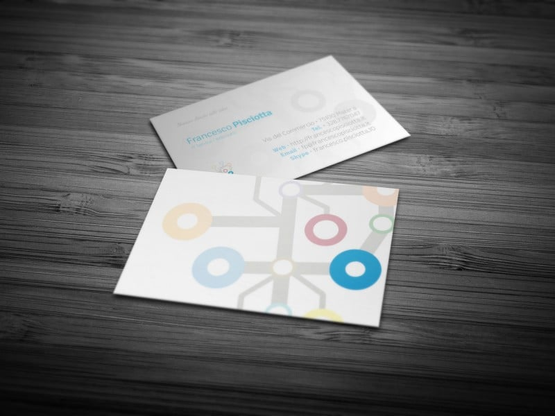 Business card Francesco Pisciotta