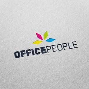Logo OfficePeople • Claudio Troisi Grafico Roma