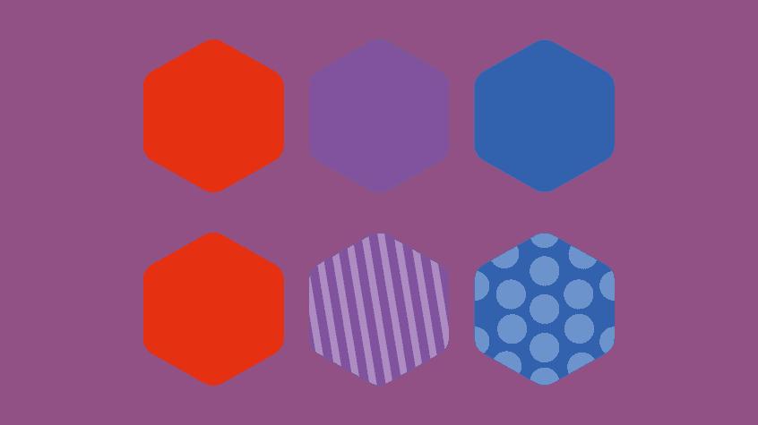 Texture design daltonismo