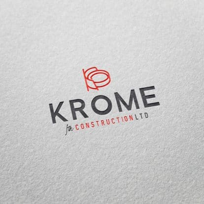 Logo Krome Construction