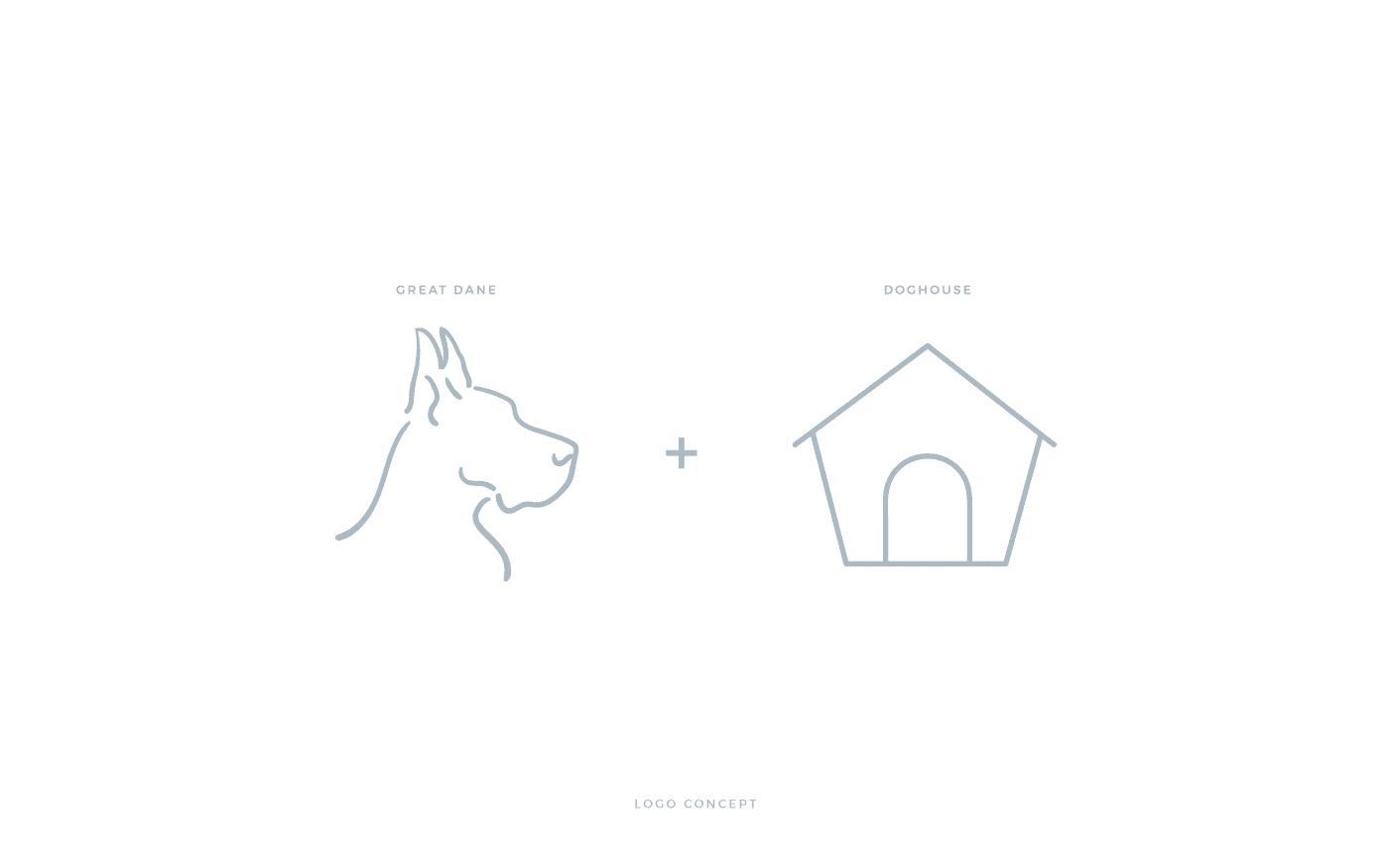 Ragdoll House Logo Concept