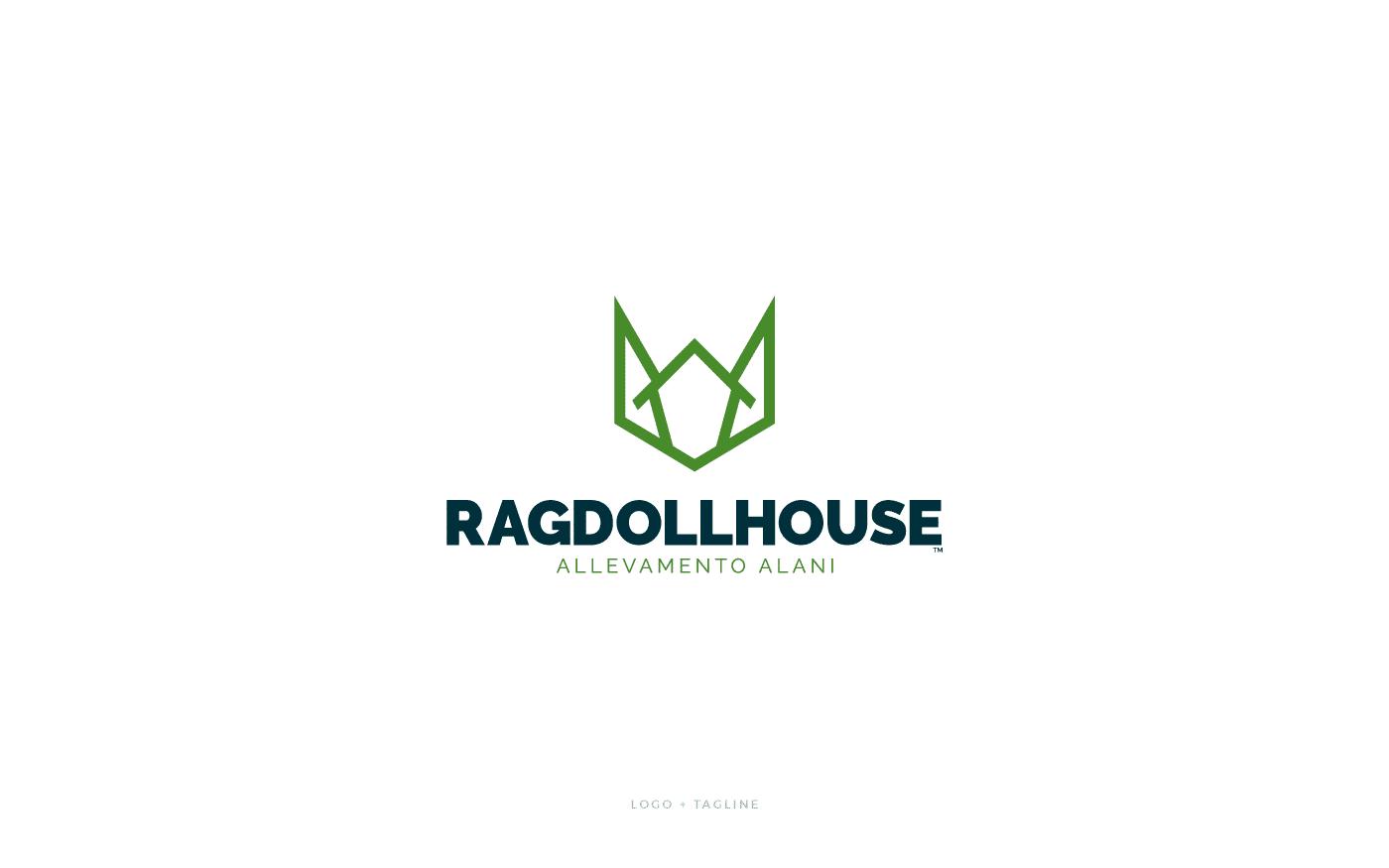 Ragdoll House Logo Tagline