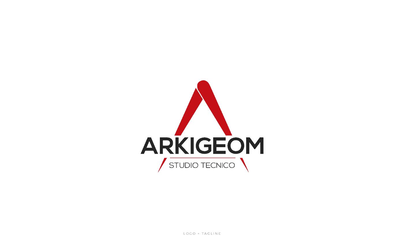 Studio Tecnico Arkigeom Logo Tagline