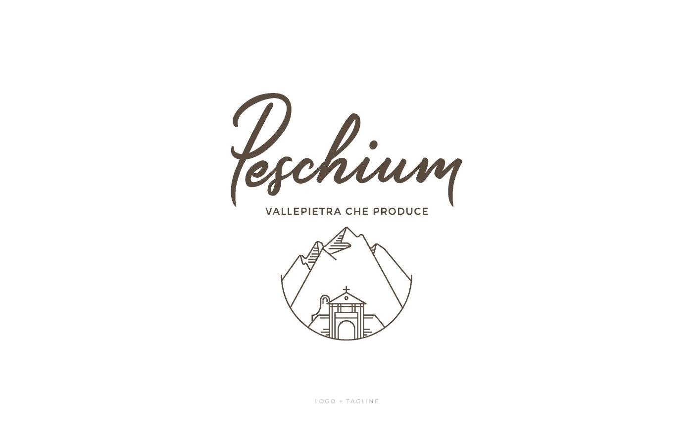 Peschium Logo Tagline