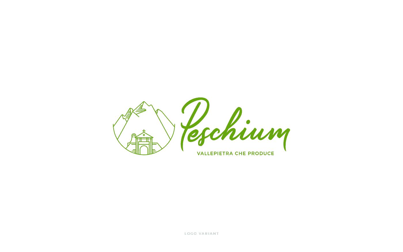 Peschium variante logo