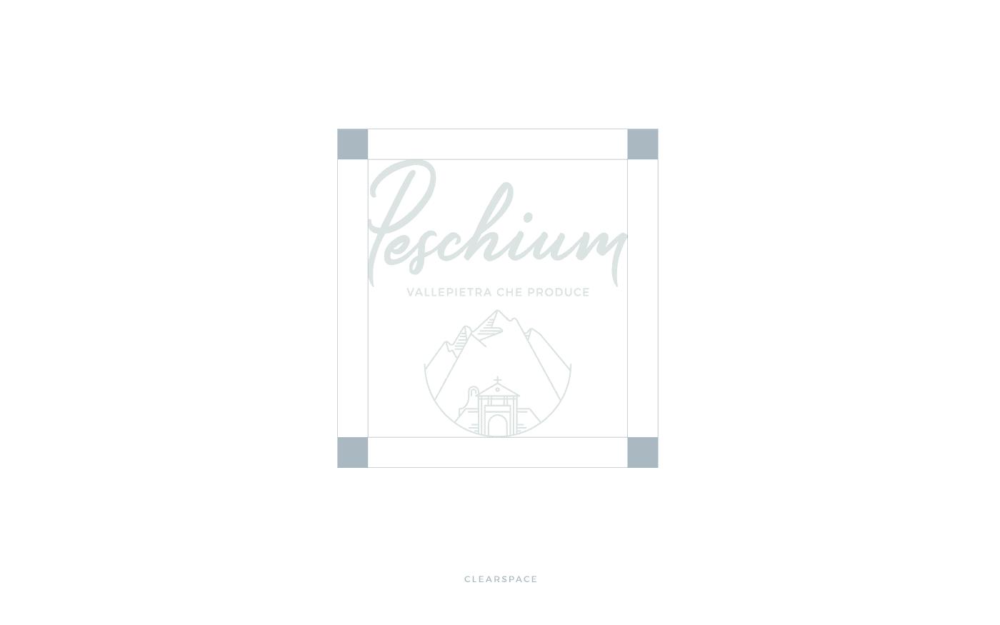 Peschium Area di rispetto Logo