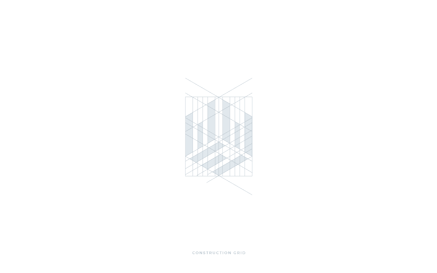 Edilia Design griglia costruzione pittogramma logo