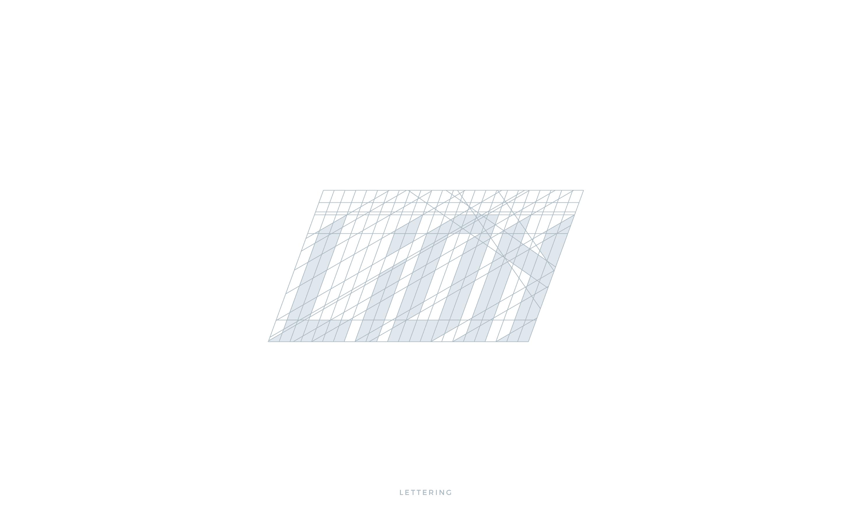 DLION costruzione lettering Logo