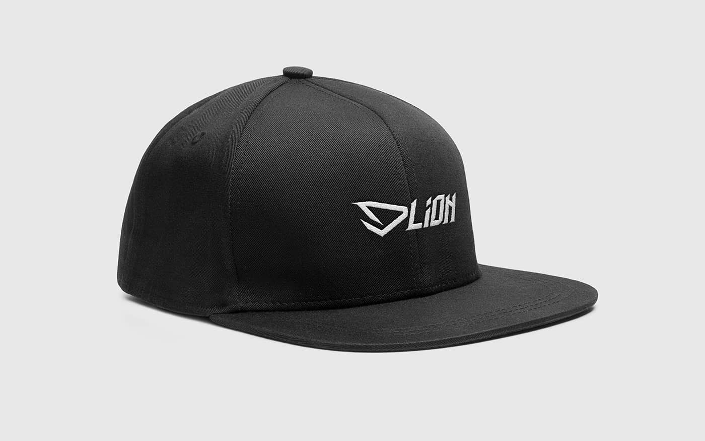 DLION mockup cappello da baseball