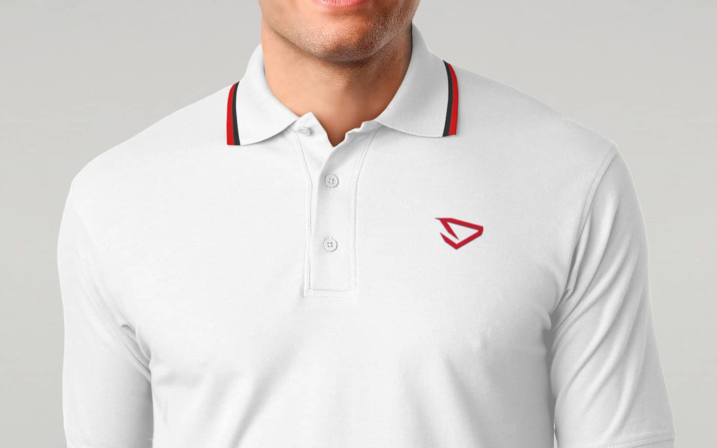 DLION polo mockup