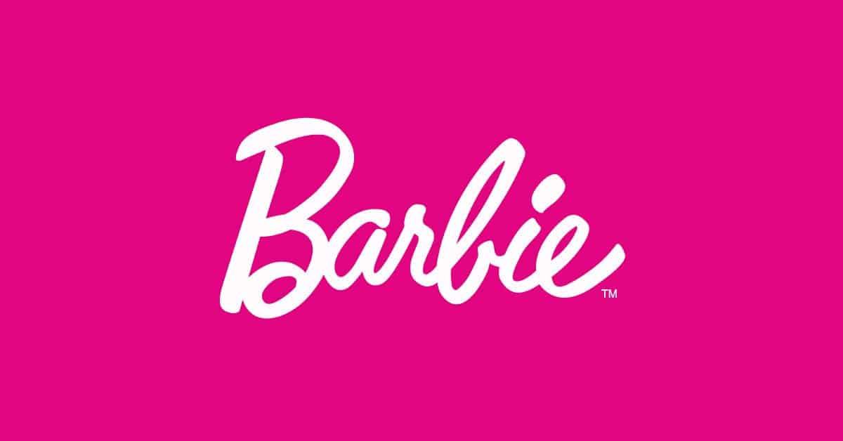 Psicologia del colore rosa - Logo Barbie