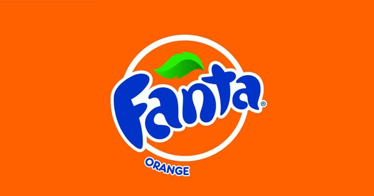 Psicologia del colore arancione - Logo Fanta
