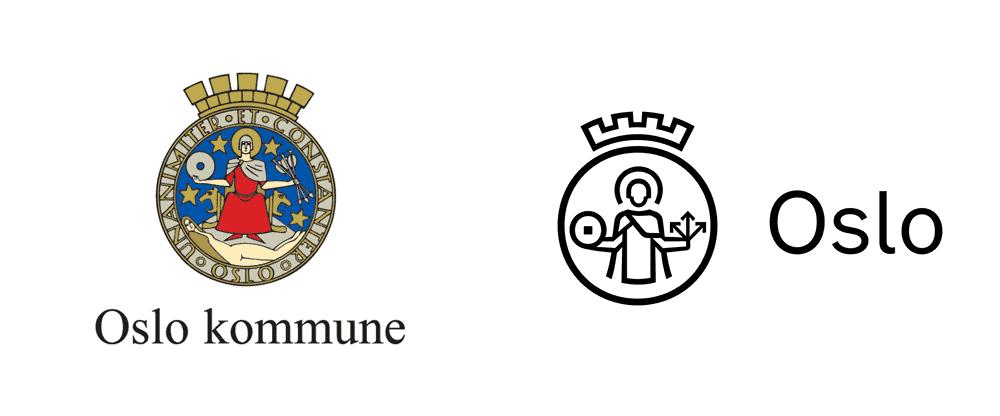 Logo Oslo Vecchio e Nuovo