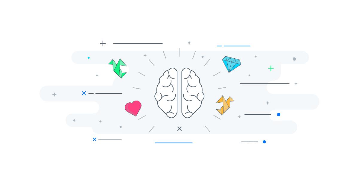 Psicologia del colore - Percezione del cervello